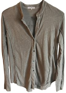 James Perse Button Down Shirt grey