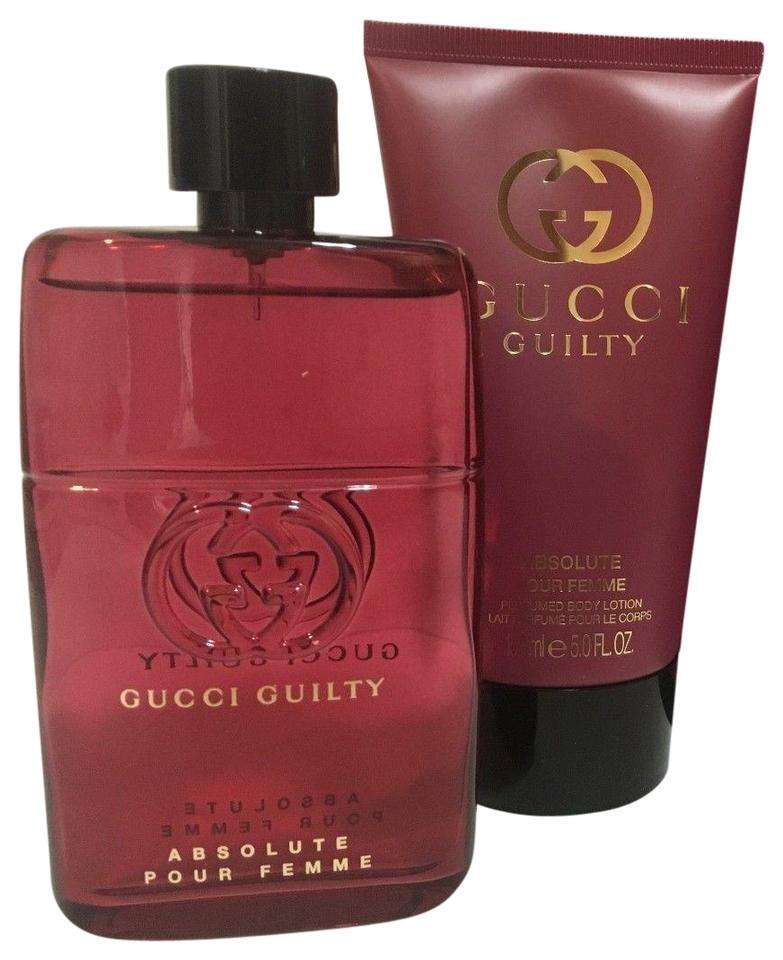 18b6635d3 Gucci Crystal L Guilty Absolute Pour Femme Gift Set Edp 3.0 Oz + 5.0 B/L  Fragrance