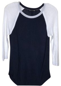 Rag & Bone Color Mesh Knit Sweater