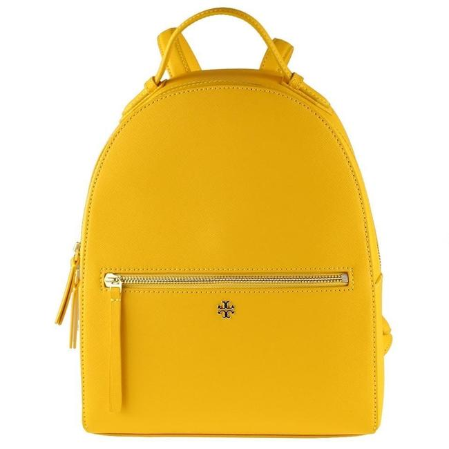 Item - Emerson Yellow Leather Backpack