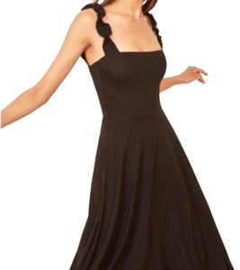 3cb6d5d94c4f Black Reformation Dresses Mid-Length - Up to 70% off a Tradesy