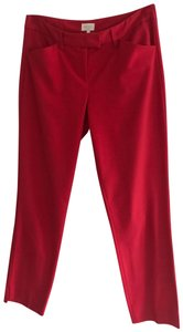 Laundry by Shelli Segal Skinny Pants Red