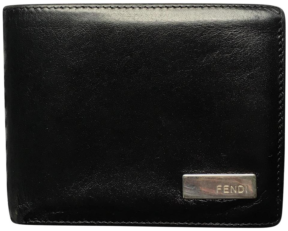 9759731995 Black Bifold Wallet
