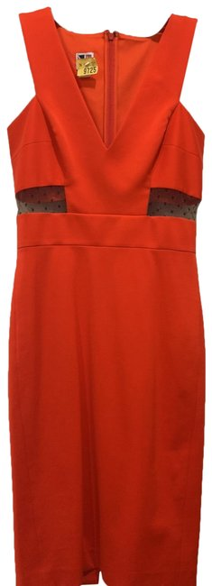 Item - Red Mila Mid-length Cocktail Dress Size 2 (XS)