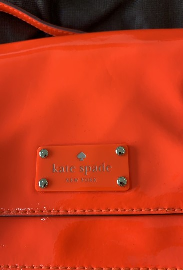 Kate Spade orange Messenger Bag Image 5