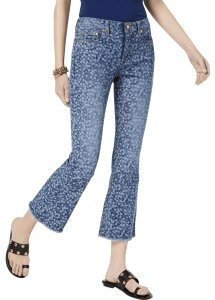 Michael Kors Cotton Trouser/Wide Leg Jeans