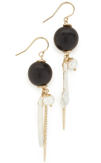 Preload https://img-static.tradesy.com/item/25511708/alexis-bittar-new-elements-pearl-cluster-wood-pave-spike-wire-earrings-0-2-540-540.jpg