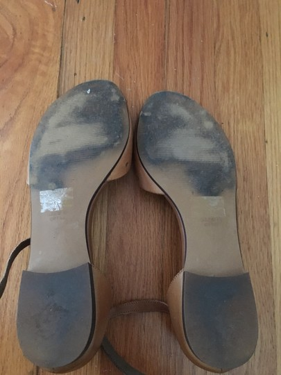 Madewell Holepunch Flats Ankle Strap Tan Sandals Image 3