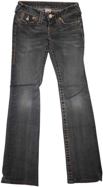 Item - Gray Acid Billy Straight/Skinny Leg Skinny Jeans Size 24 (0, XS)