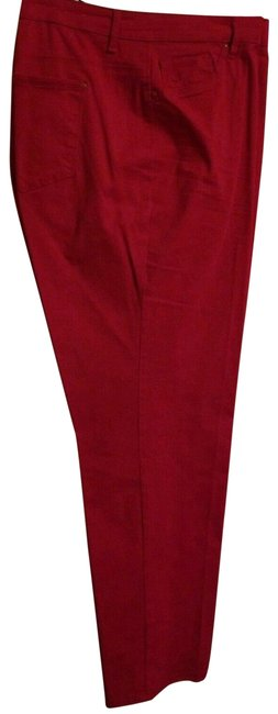 Item - Dark Pink Relaxed Fit Jeans Size 16 (XL, Plus 0x)
