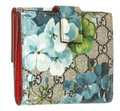 Gucci Gucci Multicolor Coated Canvas Leather Blooms Wallet Image 0