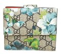 Gucci Gucci Multicolor Coated Canvas Leather Blooms Wallet Image 2