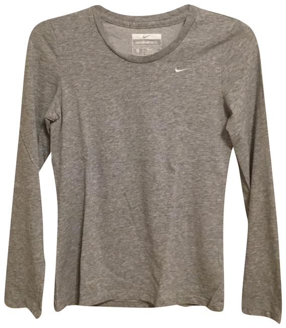 Item - Gray Fit Dry Sports Tee S Crew Activewear Top Size 4 (S)