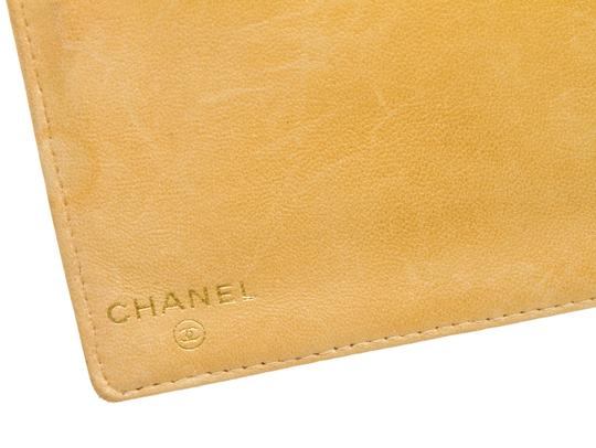 Chanel Chanel Beige Caviar Leather Timeless French Purse Wallet Image 5