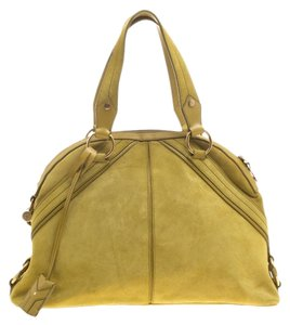 2a1da7d0206 Yellow Leather Saint Laurent Bags - 70% - 90% off at Tradesy