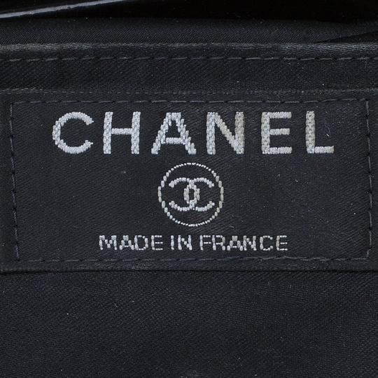 Chanel Patent Leather Satin Shoulder Bag Image 10