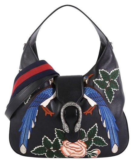 Preload https://img-static.tradesy.com/item/25514427/gucci-dionysus-embroidered-leather-small-black-hobo-bag-0-1-540-540.jpg
