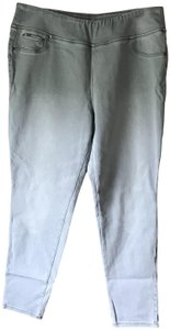 DG2 by Diane Gilman Plus-size Pull-on Skinny Leg Faux 5-pocket Jeggings-Light Wash