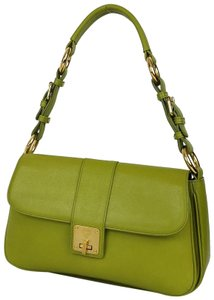 MCM Ships In 24 Hours Leather Flap Hobo Bag