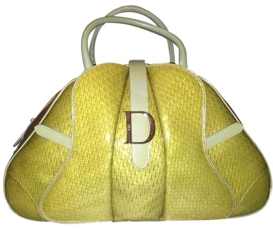 Dior Satchel in Green Image 0