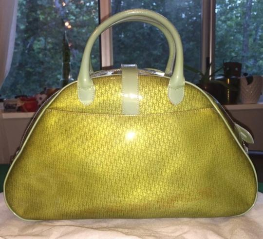 Dior Satchel in Green Image 1
