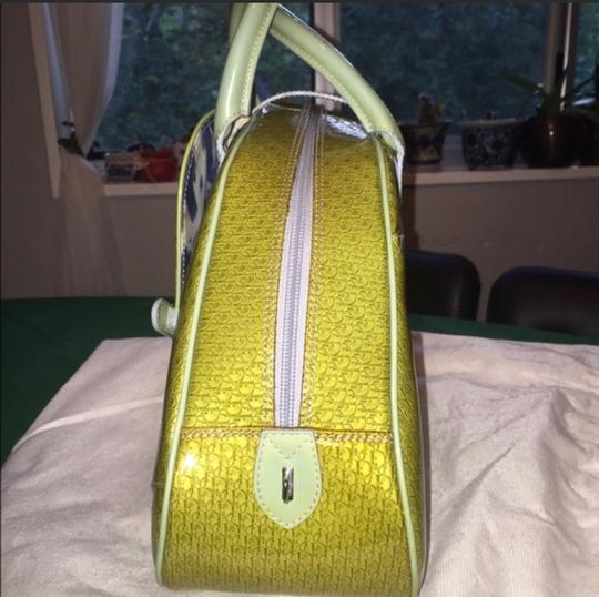 Dior Satchel in Green Image 3
