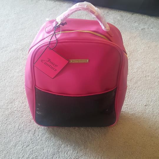 Preload https://item3.tradesy.com/images/juicy-couture-hot-pink-black-glitter-vinyl-backpack-25514617-0-0.jpg?width=440&height=440