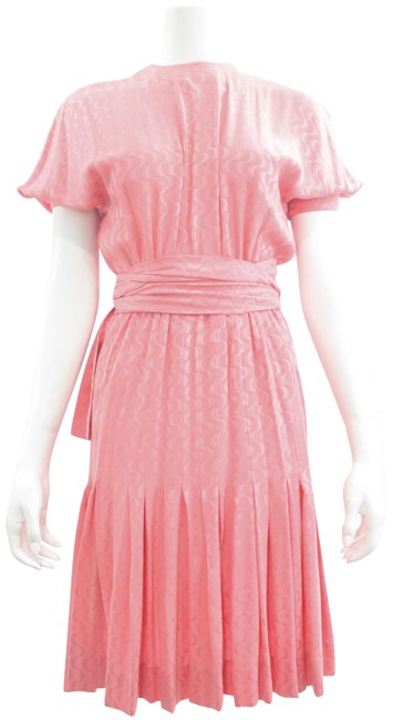 Preload https://img-static.tradesy.com/item/25514672/vintage-pink-silk-small-cocktail-dress-size-4-s-0-1-650-650.jpg