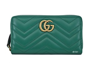 Gucci Gucci GG Marmont Leather Zip-Around Wallet