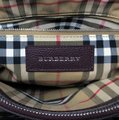 Burberry Satchel in Mahogany Red Image 8