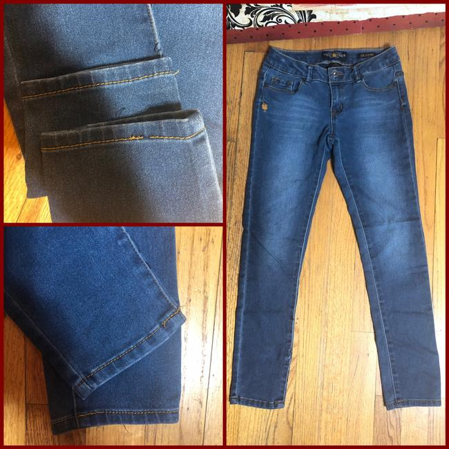 Lucky Brand Capri/Cropped Denim-Medium Wash Image 1