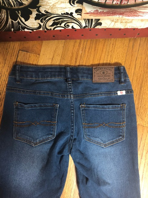 Lucky Brand Capri/Cropped Denim-Medium Wash Image 3