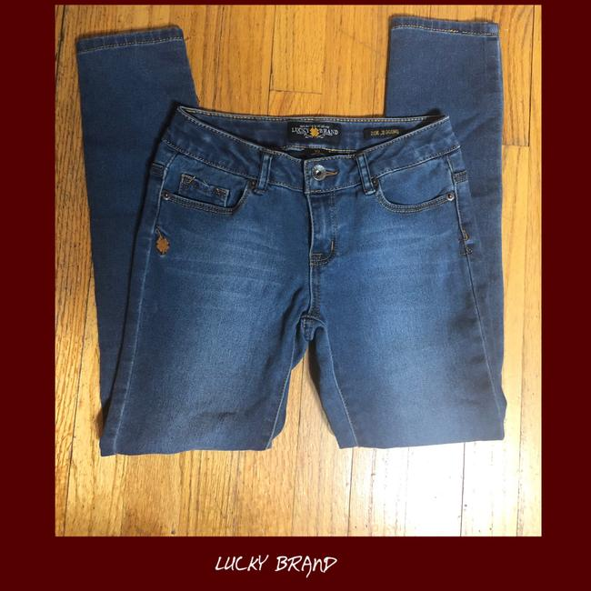 Lucky Brand Capri/Cropped Denim-Medium Wash Image 4