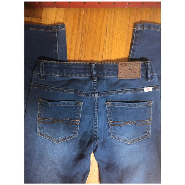 Lucky Brand Capri/Cropped Denim-Medium Wash Image 5