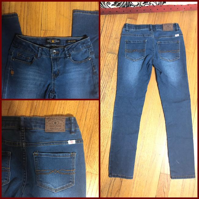 Lucky Brand Capri/Cropped Denim-Medium Wash Image 6