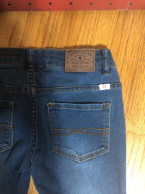 Lucky Brand Capri/Cropped Denim-Medium Wash Image 7