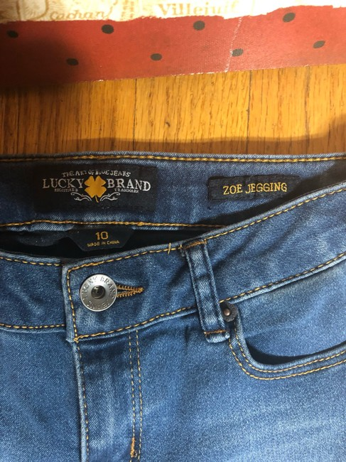 Lucky Brand Capri/Cropped Denim-Medium Wash Image 8