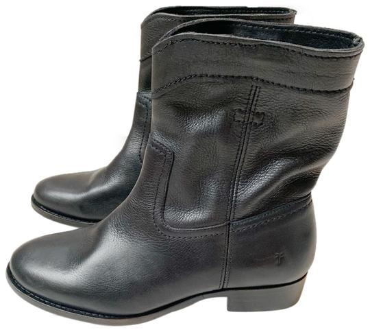 Preload https://img-static.tradesy.com/item/25514930/frye-black-classic-soft-leather-bootsbooties-size-us-65-regular-m-b-0-1-540-540.jpg