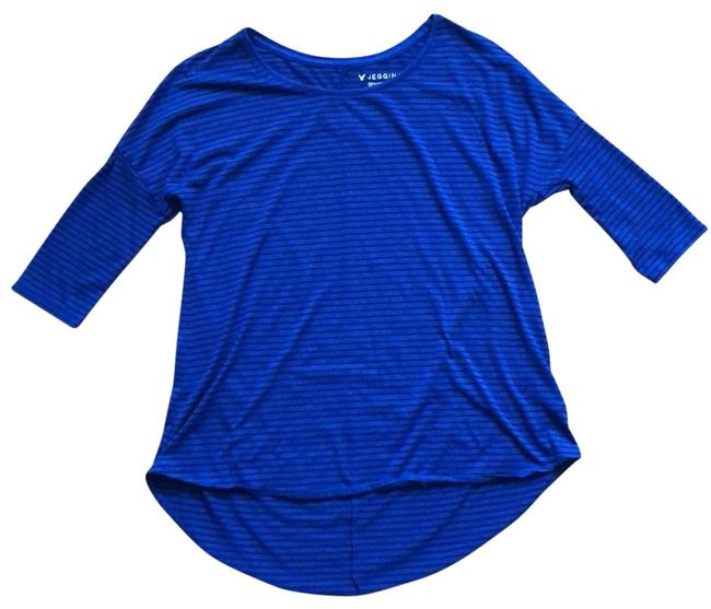 Preload https://img-static.tradesy.com/item/25514938/american-eagle-outfitters-blue-with-black-striped-jegging-t-tunic-size-2-xs-0-1-650-650.jpg