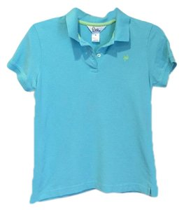 Lilly Pulitzer Button Down Shirt light teal/turquoise
