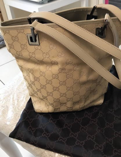 Gucci Tote in nude/gold Image 3