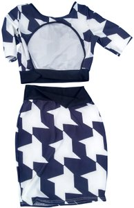 Other short dress Blue n white on Tradesy