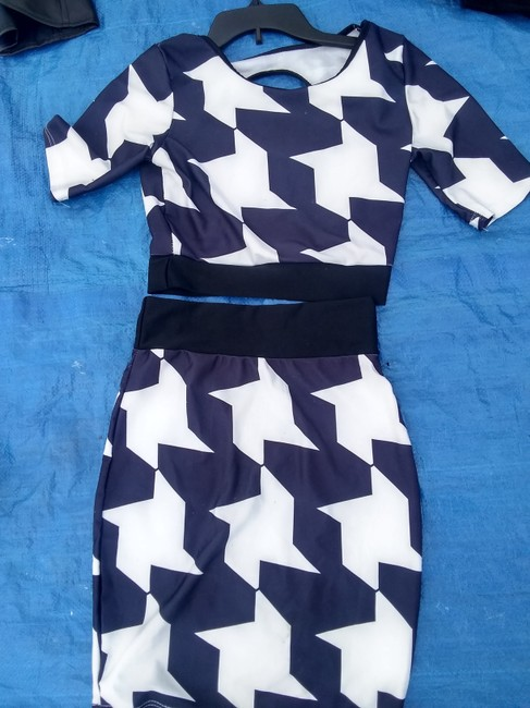 Other short dress Blue n white on Tradesy Image 1