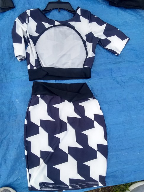 Other short dress Blue n white on Tradesy Image 2