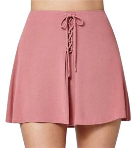 Kendall + Kylie Mini Skirt mauve