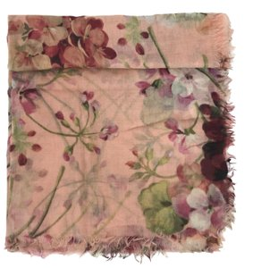 Gucci NEW GUCCI 406227 Blooms Wool Cashmere Scarf