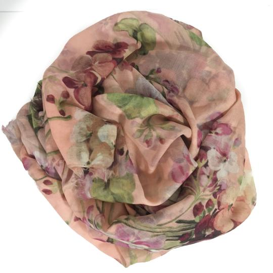 Gucci NEW GUCCI 406227 Blooms Wool Cashmere Scarf Image 3