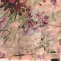 Gucci NEW GUCCI 406227 Blooms Wool Cashmere Scarf Image 7