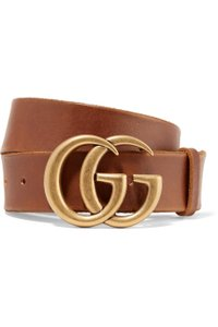 Gucci GG LOGO LEATHER BELT SIZE 75