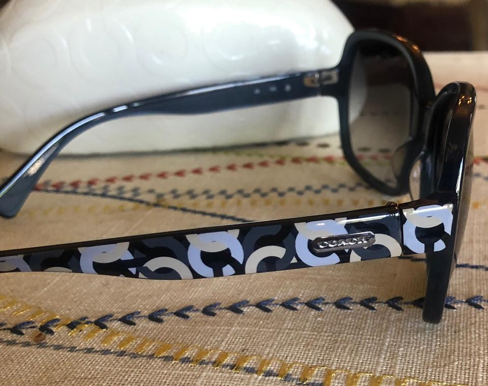 75f5dda99e81 Coach Navy Blue S2029 Sunglasses - Tradesy